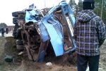 В Ленинградской области пассажирский автобус столкнулся с локомотивом