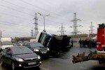 В Москве в результате массового ДТП столкнулись 20 машин, есть жертвы