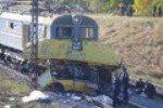 В Красноярском крае маршрутка выехала на пути перед приближающимся товарняком
