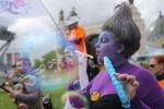 В Москве на ВДНХ прошел десятый Парад мыльных пузырей