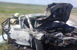 Трагедия на дороге Башкирии, пятеро погибли