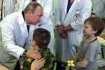 В День защиты детей президент страны побывал в НИИ Леонида Рошаля
