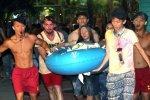 На фестивале красок в Тайване произошел взрыв и пожар, имеется много пострадавших