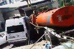 КамАЗ в Сочи протаранил пять маршруток, есть пострадавшие