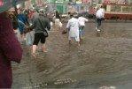 В Санкт-Петербурге затопило супермаркеты