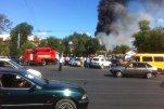 В Астрахани горел один из корпусов тепловозоремонтного завода