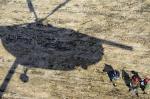 Недалеко от Кызыла найдены предположительно обломки пропавшего осенью вертолета