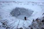 Гигантские воронки на Ямале стали озерами