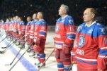 В свой день рождения Владимир Путин играл в хоккей
