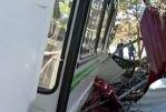 В Хабаровском крае опрокинулся автобус с детьми