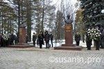 В Ижевске открыты памятники Калашникову и Устинову