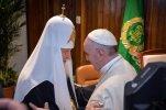 В аэропорту Гаваны произошла историческая встреча глав Русской православной и Римско-католической церквей