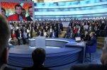 Путин отвечал на вопросы людей 3 часа 39 минут