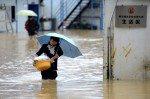 Проливные дожди в Китае, ущерб огромен, есть жертвы