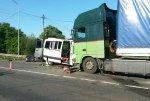 Под Курском произошло столкновение автобуса и фуры, есть жертвы