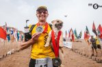 Пес сопровождал марафонца через всю пустыню