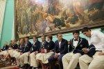 В Кремле состоялось награждение героев Рио