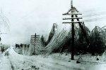 Ледяной дождь в Центральной России