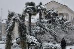 Снежный шторм обрушился на юг России