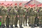 Батальон военной полиции выполнил поставленные задачи и без потерь вернулся домой