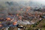 В Красноярском крае горят дома, есть жертвы