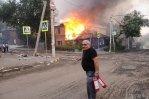 Пожар в Ростове-на-Дону удалось, наконец, локализовать