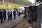 В Анталье перевернулся автобус с туристами, есть пострадавшие россияне