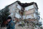 В Юрьевце Ивановской области обрушилась часть подъезда пятиэтажного дома, пострадавших нет
