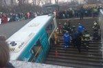 В Москве автобус въехал в подземный переход на Кутузовском проспекте, есть жертвы
