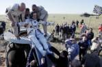 На Землю вернулся из командировки экипаж МКС