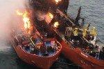 Пожар в Черном море