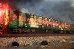 Трагедия на железной дороге Пакистана
