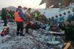 В Казахстане во время взлета пассажирского лайнера произошла авария, есть жертвы