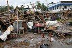 По Индии и Бангладеш прошелся мощный циклон «Ампхан»