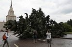 Ливень в Красноярске, ураган в Новосибирске и Москве