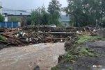 Потоп в Нижних Сергах Свердловской области