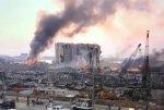 Взрыв в порту Бейрута. Погибли 78 человек, ранены почти 4 тысячи человек