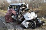 На трассе «Сибирь» столкнулись маршрутка и рейсовый автобус. Погибли пять человек